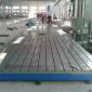 直销 铸铁t型槽平台机械设备装配焊接可定做 铆焊铸铁平板